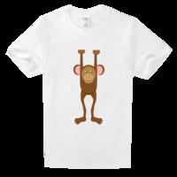 时尚潮流动物元素高档白色T恤
