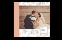 我们的故事(婚礼爱情纪念册)高档原创欧美经典精品自由DIY-8x8印刷单面水晶照片书