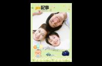 童年纪事(儿童照 全家福 幼儿毕业照)-8x12印刷单面水晶照片书21p