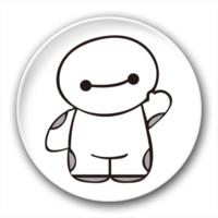 超能陆战队可爱大白-4.4个性徽章
