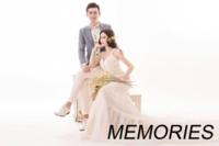 简约大气英文-美好回忆-爱情、写真、旅行、亲子(装饰可移动、图片可换)-15寸木版画横款