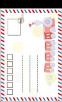宝贝明信片-正方留白明信片(竖款)套装