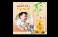 可爱的天使宝贝--亲子 卡通 萌 甜美 儿童写真 趣味 节日-8x8印刷单面水晶照片书21P