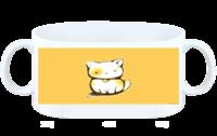 可爱猫咪-白杯