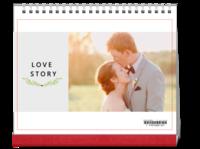 爱的故事#-10寸单面印刷台历