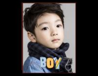 boy男孩-8寸竖式木版画