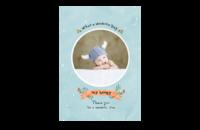 可爱宝贝(蓝色男宝款)-8x12印刷单面水晶照片书20p