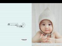 大眼睛萌娃-儿童-宝贝-男女通用(照片可换)-硬壳精装照片书22p