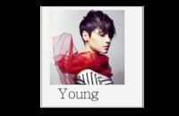 Young 青春(个人写真集)高档原创欧美经典精品自由DIY-8*8印刷单面水晶照片书