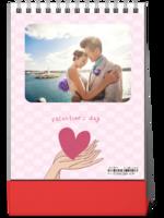 爱你每一天(情侣爱情专用-浪漫温馨)-8寸竖款单面台历