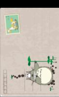 可爱龙猫-全景明信片(竖款)套装