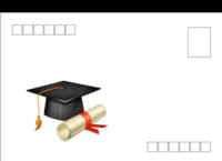 毕业季-全景明信片(横款)套装