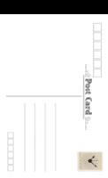 经典空白明信片(通用版)1516-817-全景明信片(竖款)套装