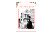 【爱你一生一世,时光静好与君语,细水流年与君同,繁华落尽与君老】(图文可换)-8x12印刷单面水晶照片书21p