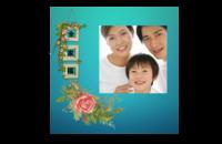 全家福(图文可改)-8x8印刷单面水晶照片书21P