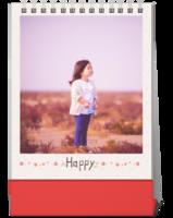 开心每一天-家庭 全家福 宝宝 聚会 情侣婚纱 每页大图-等风也等你-10寸竖款单面