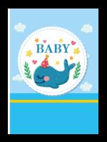 BABY#-A4杂志册(36P)
