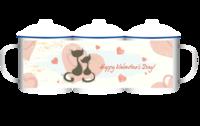 情人节礼物-守护-大号搪瓷杯
