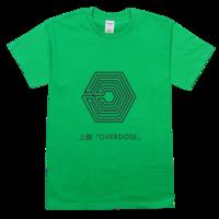exo上瘾舒适彩色T恤