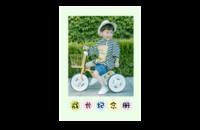 成长纪念册(亲子、卡通、萌娃、男女通用、照片可换)-8x12印刷单面水晶照片书21p