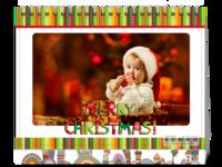 MERRY CHRISTMAS圣诞节快乐-8寸双面印刷台历
