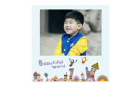 我的美丽世界-卡通-插画-通用-个人写真(照片可换)-8x8印刷单面水晶照片书21P