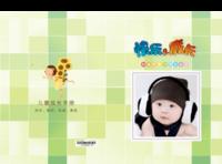 快乐成长-萌娃-宝贝-照片可替换-硬壳精装照片书30p