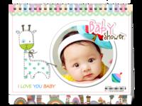 家有小可爱-天使宝宝爸妈最爱-8寸单面印刷台历