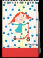 可爱卡通  萌萌哒 图文可替换-8寸竖款单面台历