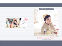 韩式爱的记忆童年时光故事 happy day-8x12对裱特种纸30p套装