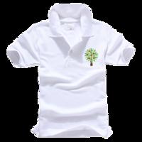 青春无极限-男款纯色POLO衫