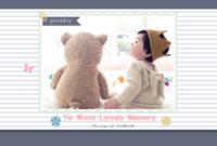 韩式爱的记忆童年时光故事 happy day1 mar7-A5横款胶装杂志册26p