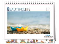 Beautifullife·时光记忆-8寸双面印刷台历