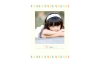 幸福的童年 快乐的宝贝-8x12印刷单面水晶照片书21p