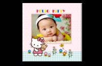 baby shower-8x8印刷单面水晶照片书
