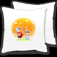 浪漫小情侣-情侣抱枕