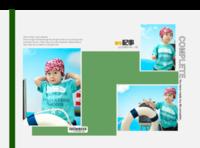 幸福和美好与你同在(封面封底图片可替换)-硬壳精装照片书30p