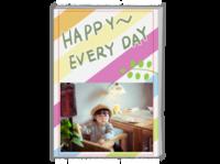 Happy 快乐每一天#-A4时尚杂志册(26p)
