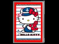 海军梦想:hellokitty凯蒂猫蔚蓝动漫卡通画册-A4骑马钉画册