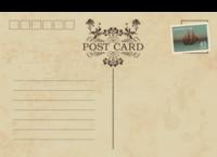 复古明信片14-全景明信片(横款)套装