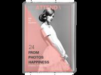 ATTEND陪伴(我的回忆录)-A4时尚杂志册(26p)