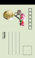 赏荷-全景明信片(竖款)套装