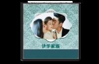 快乐家族(全家福 聚会 朋友 礼物)-8x8水晶照片书