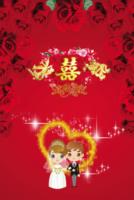 中国红-喜结良缘-8x12双面水晶银盐照片书22p