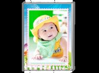 儿童 小熊维尼 萌娃 宝贝 纪念 照片可替换-A4时尚杂志册(26p)