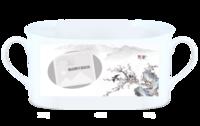 莺歌燕舞-骨瓷白杯