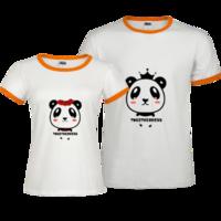 在一起的幸福(情人节礼物)-撞色情侣装纯棉T恤