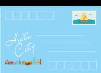 那个城市-全景明信片(横款)套装