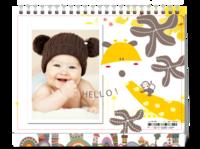 可爱宝宝专属台历 简洁卡通 萌-8寸单面印刷台历