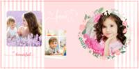可爱宝宝儿童相册粉嫩-糖果PU照片书